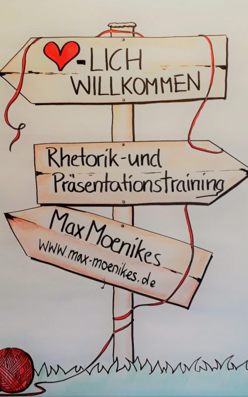 Moenikes - Flipchart Rhetorik-Training