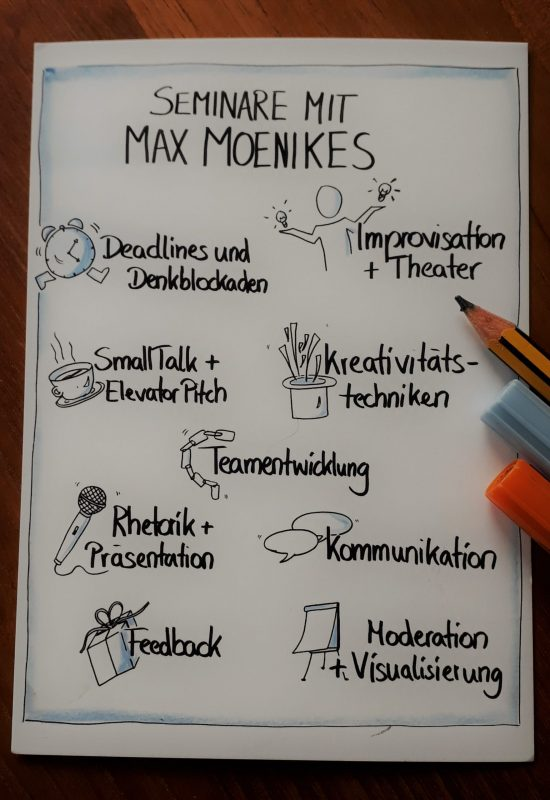 Seminare mit Max Moenikes